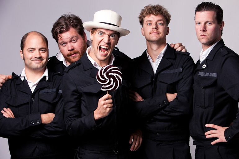 The Hives: Splendour in the Grass 2011