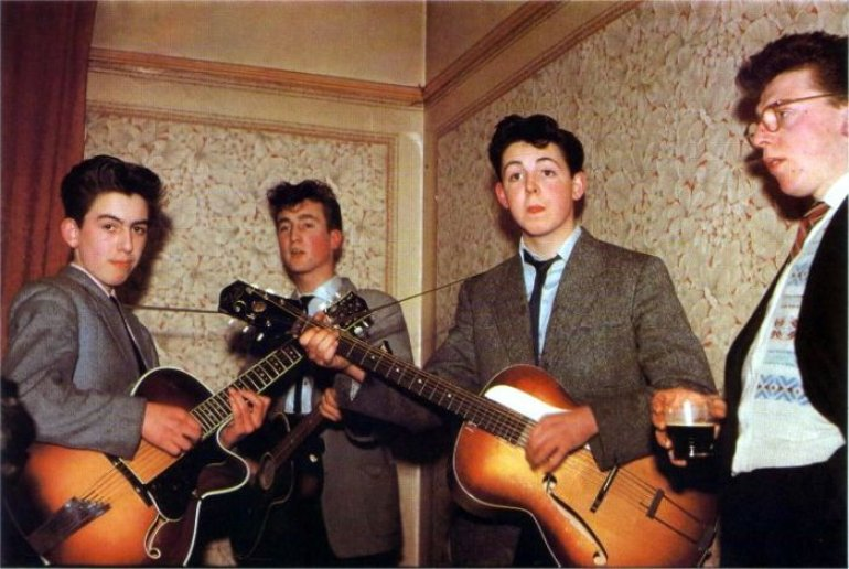 George, Lennon and Paul