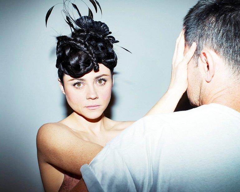 Zuza Krajewska & Bartek Wieczorek Photoshoot for Viva! [PNG]