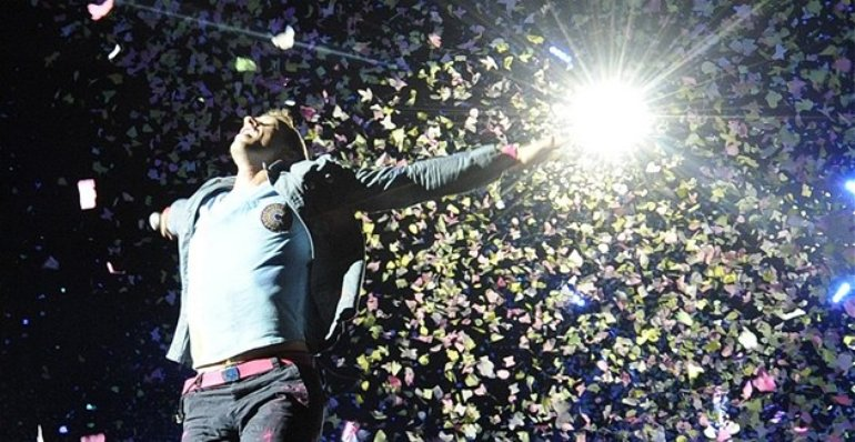 Coldplay in Synops Arena, Prague, 17.9.2012