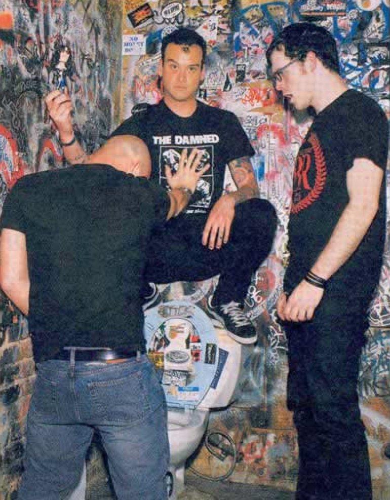 Alkaline Trio in Rolling Stone