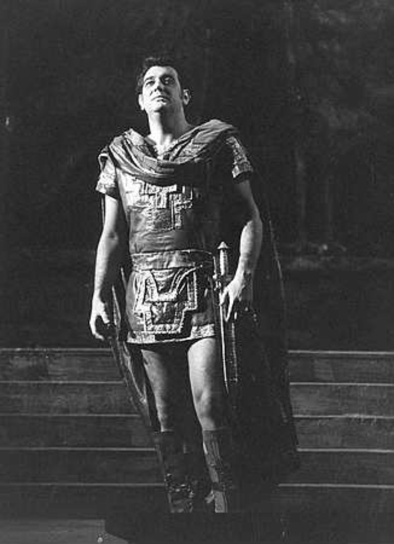 1977 -  Royal Opera House Covent Garden - as Radames in Verdi's Aida