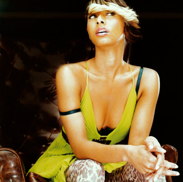"""Keri Hilson \""""In A Perfect World\"""" booklet photo."""