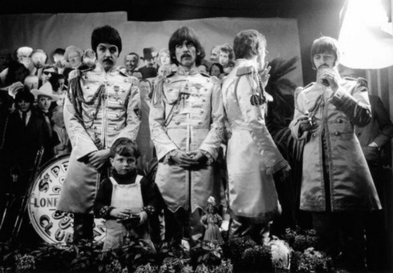 Sgt. Pepper Photoshoot