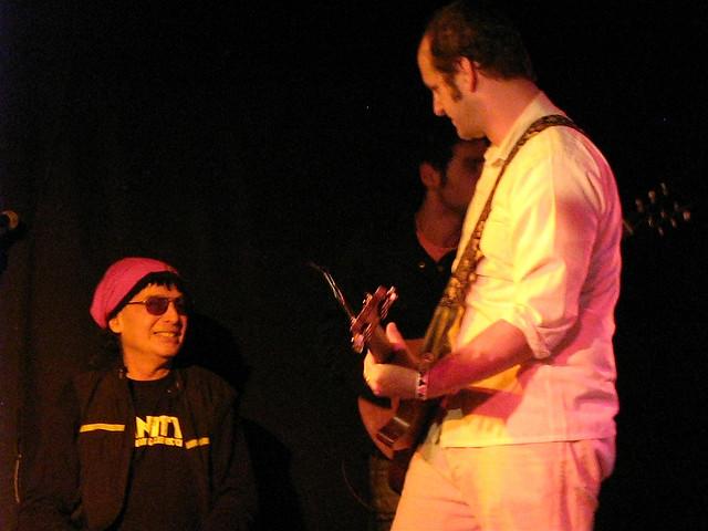 Alan Vega and Oneida