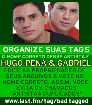 Hugo Pena e Gabriel