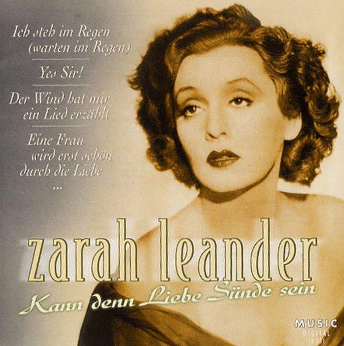 Zarah Leander in 'The big love', 1942 Stock Photo ...  |Zarah Leander Live 1973