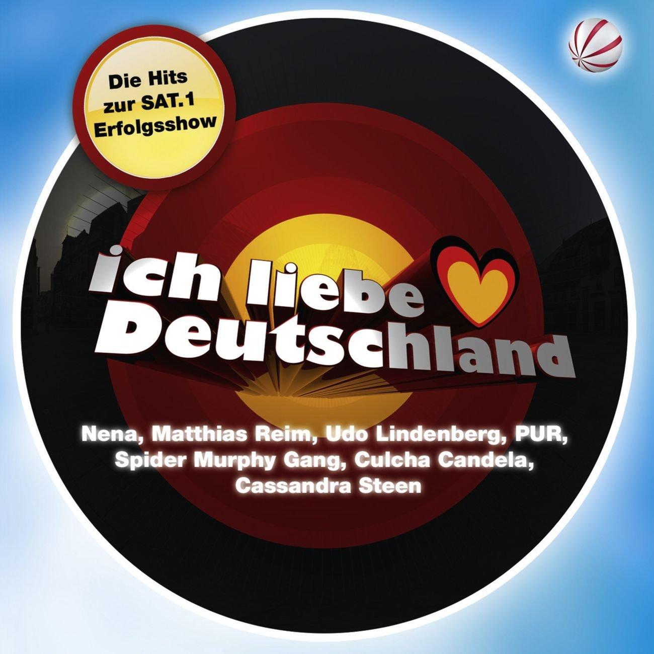 ich liebe deutschland various artists listen and. Black Bedroom Furniture Sets. Home Design Ideas