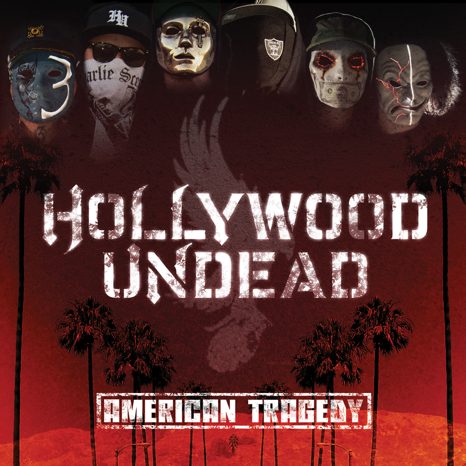 american tragedy American tragedy is the second studio album by american rap rock group hollywood undead the first single, hear me now, was released on december 13 to radio, and a non-single track, comin' in hot, was released on january 21 for free.