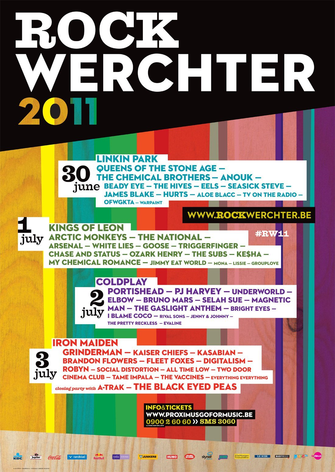 Rock Werchter 2011 at Werchter (Werchter) on 30 Jun 2011 ...