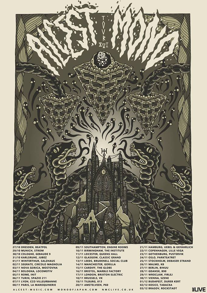 Alcest Usa Tour