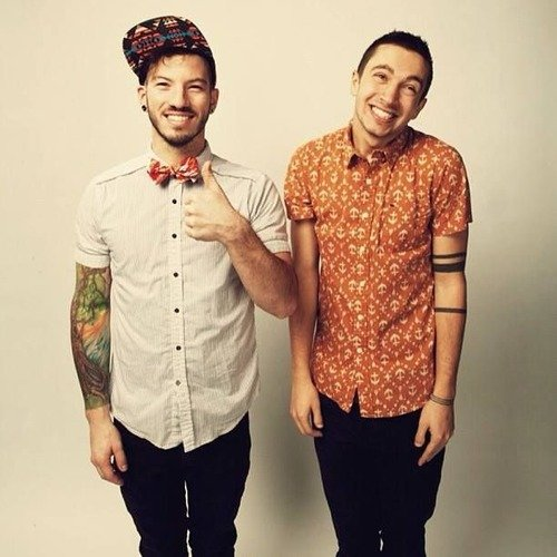 Twenty one pilots pictures metrolyrics for Twenty one pilots