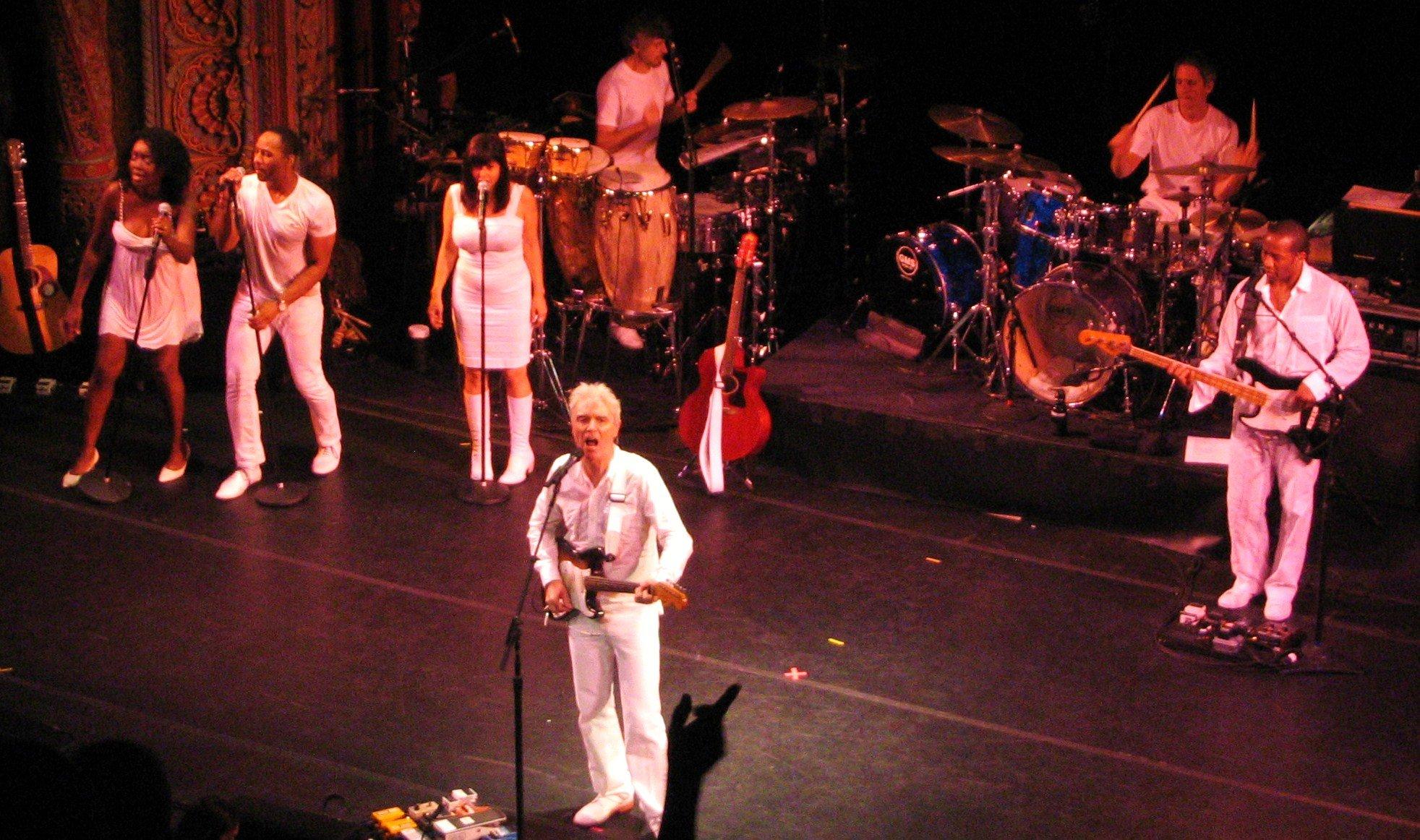 David Byrne 3 Big Songs