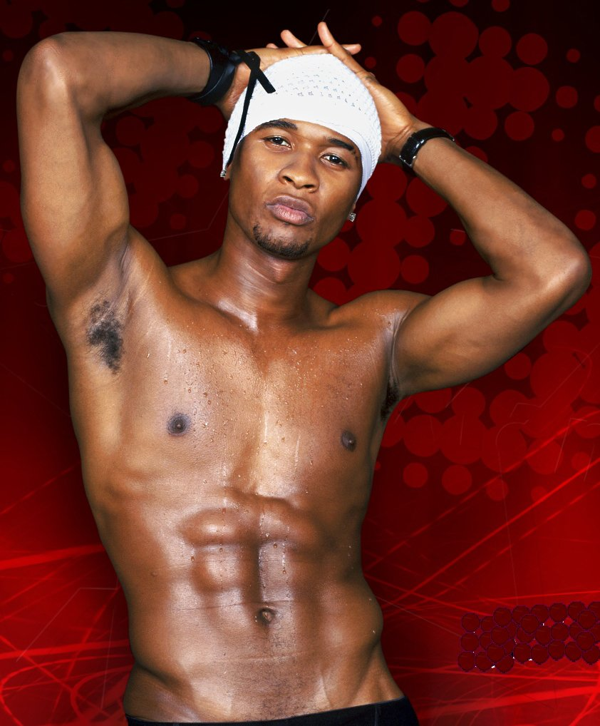 naked picture of usher