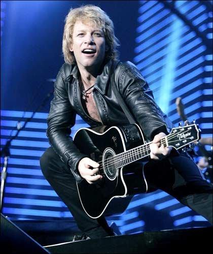 Bon Jovi Scars On This Guitar Song Lyrics: Jon Bon Jovi Pictures