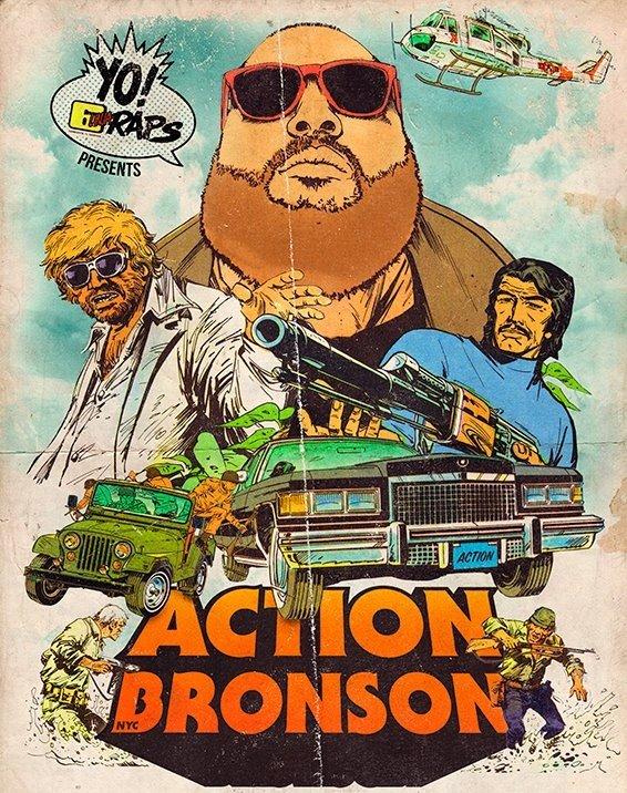 Pin on art  |Action Bronson Album Cover