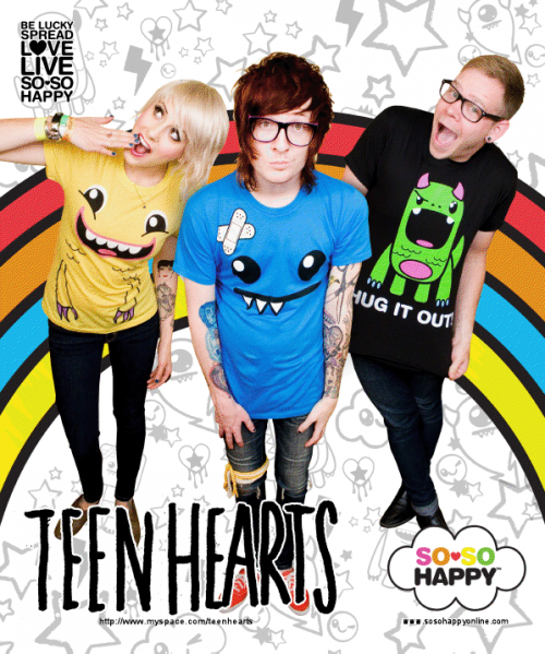 TEEN HEARTS : THE SIGN lyrics -