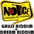 GALLIS riddim/DREAM riddim DOUBLE ALBUM