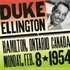 Ellington, Duke: Duke Ellington - The Forum, Hamilton, Ontario, Canada (8 February 1954)