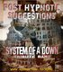 Post Hypnotic Suggestions