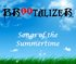Songs of the Summertime [EP]