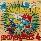 Smurfehits 4 artwork