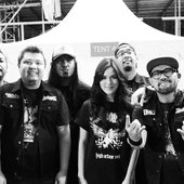 Seringai at GBK (opening act for Metallica Live in Jakarta)