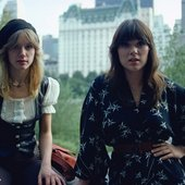 Nancy and Ann Wilson, Central Park, New York.