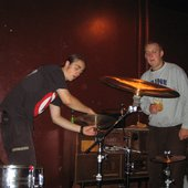 Hostile recording their demo in mid-2005