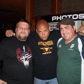 Joe,Travis and me @ I7 show asbury lanes