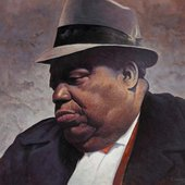 Portrait of Jimmy Rushing (http://cooleyartgallery.net/)
