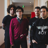 Fall Out Boy in Paris, 2013.