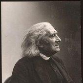 Franz Liszt, compositeur et pianiste hongrois (1811-1886)