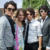 Miley Cyrus Ft. Jonas Brothers