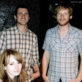 Jesse Lacey, Kevin Devine and Grace Read