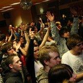 DJ Chamber vs Dr Fish @ Beats on Toast, Frome Football Club - 03/01/2008 - Crowd!
