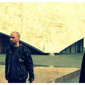 With Fernando Perales in Volgograd, Russia