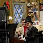 Stephen Colbert & Elvis Costello