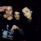 Dave and Victor with Ville Valo