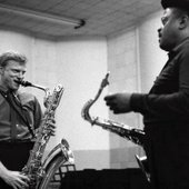 Gerry Mulligan and Ben Webster