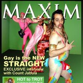 the boys on the cover of MAXIM