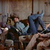 Dean Martin, Ricky Nelson & Walter Brennan