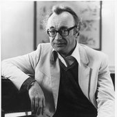 Alfred Brendel in a White Jacket