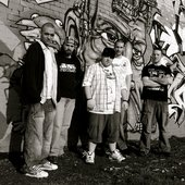 Graff Photo shoot with new drummer Al 2009