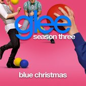Blue Christmas (Glee Cast Version)