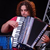 Koby and his accordion
