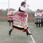 Rowan football from Poland.