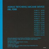 Asmus Tietchens & Arcane Device