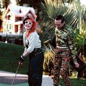 Cyndi Lauper e Pee-wee