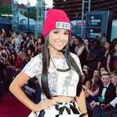 Becky G at the 2013 MTV VMA's in Brooklyn.